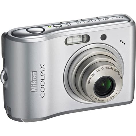 Gc L15 nikon coolpix l15 digital silver 25584 b h photo