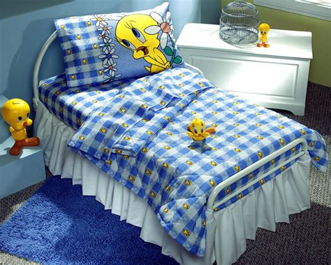 looney tunes tweety bird blues sheet set toddler