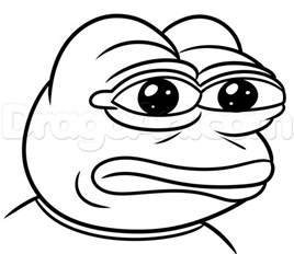 Meme Pages - how to draw pepe frog step by step characters pop