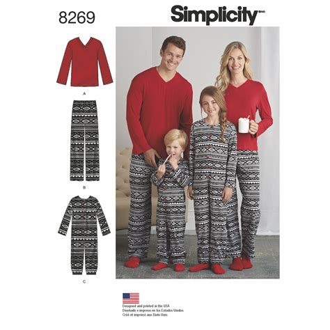 sewing patterns young adults simplicity simplicity pattern 8269 child s girls and boys