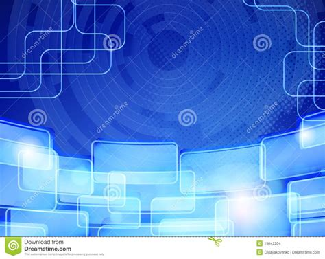 wallpaper biru kristal abstract blue techno background card design stock images