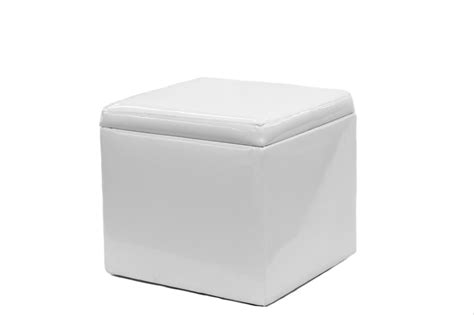 white cocktail ottoman ottoman white leather reina white leather cocktail