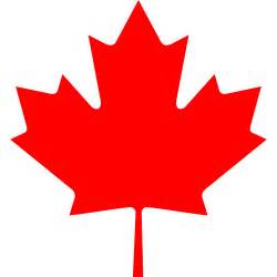 Canada Maple Leaf Outline by Canada Maple Leaf