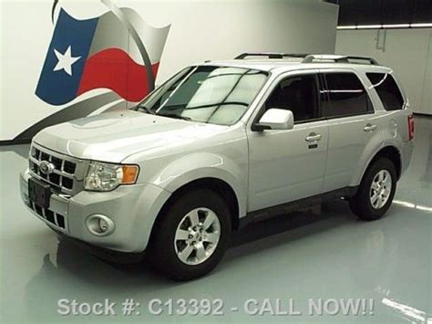 2011 Ford Escape Roof Rack by Sell Used 2011 Ford Escape Limited Heated Leather Roof