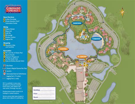 coronado springs resort map memories disney s coronado springs resort map