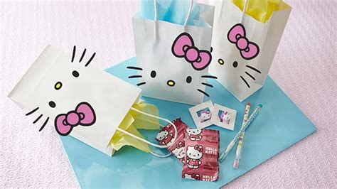 How To Make Paper Goody Bags - how to make a hello favor bag bettycrocker