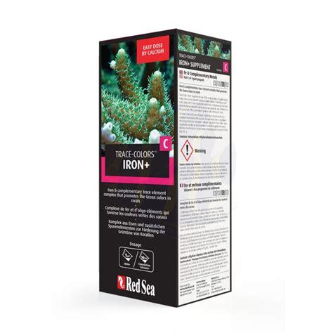 Sea Trace Colors D Bioactive Elements Supplement Coral Color D sea trace color c iron supplement 500ml