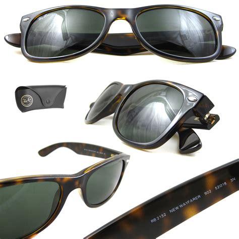 Id 902 Green Glasses ban sunglasses new wayfarer 2132 902 tortoise green