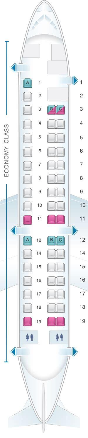 erj 145 seating seat map aeromexico embraer erj 145 seatmaestro