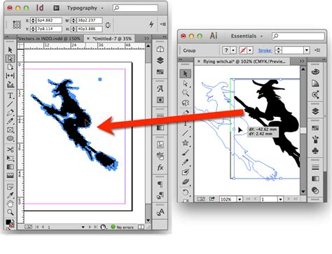 layout artist indesign using indesign illustrator and photoshop together
