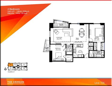 the miami floor plans crimson miami condo floor plans