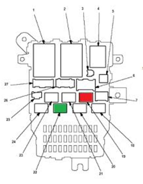 honda accord fuse box cigarette lighter wiring diagram