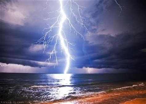 Free Lightning in the Baltic Sea Wallpaper   Download The