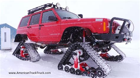 jeep snow tracks american track truck car truck suv rubber track system