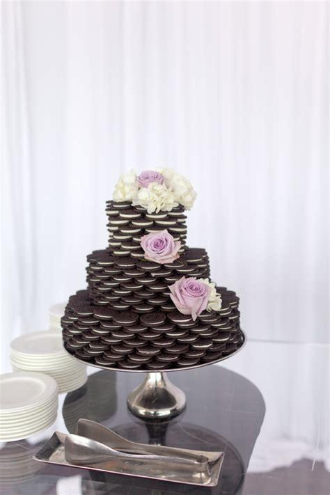 oreo wedding cake elizabeth anne designs  wedding blog