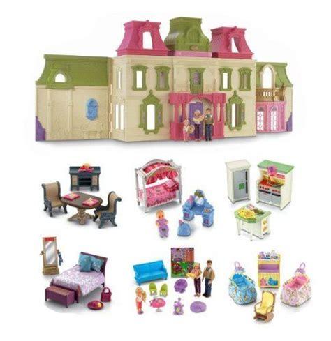 dollhouse r b fisher price loving family mega set dollhouse w
