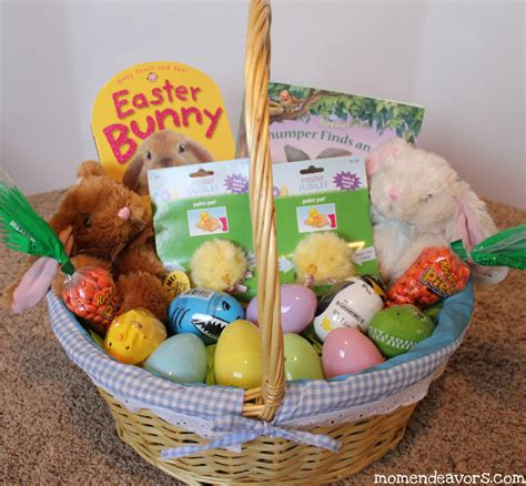 easter basket ideas building an easter basket on a budget