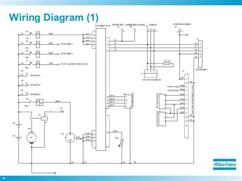 atlas copco ar series air compressor wiring diagram