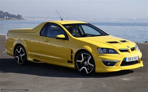 vauxhall monaro pickup download wallpaper vauxhall little pickup yellow free