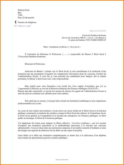 Stage Licence Lettre De Motivation 7 Lettre De Motivation Stage Droit Format Lettre