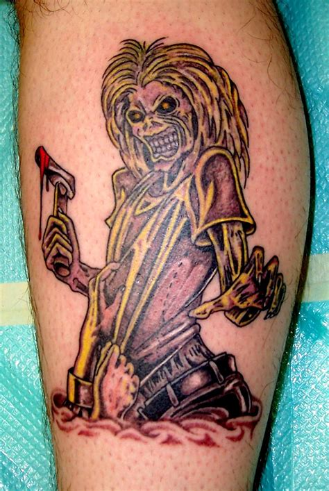 iron tattoo iron maiden tattoos