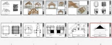 Pool Pavilion Plans by 19x22 Timbered Pavilion Timber Frame Hq