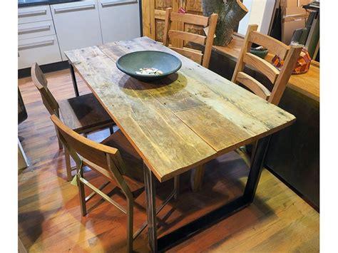 tavolo legno e ferro tavolo in legno e ferro moderno industrial 80 x160 all 240