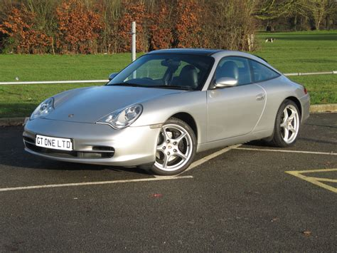 porsche 996 silver porsche 996 targa tiptronic s silver 2002 new rear