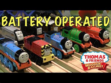 thomas wooden railway battery operated engines mega review