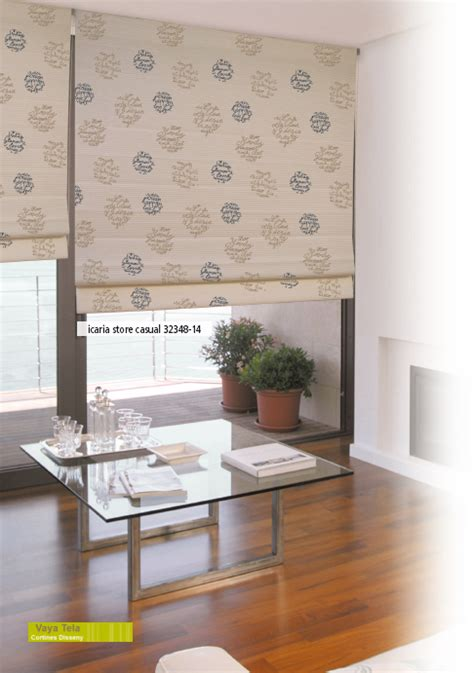 cortina enrollables estores enrollables de screen y texturas naturales