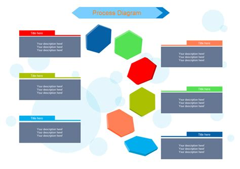 visual communication design process steps business diagram software