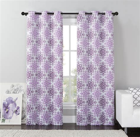 kmart curtains and drapes dark room blackout panel mosaic print home home