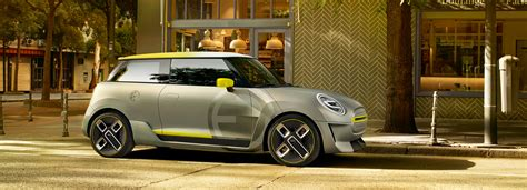 mini electric motor mini electric concept vehicle unveiled at 2017 frankfurt