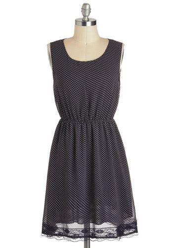 Magda Polka Dress Dress 0124 back into dress mod retro vintage dresses