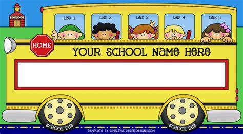 school bus template from thistlegirl designs