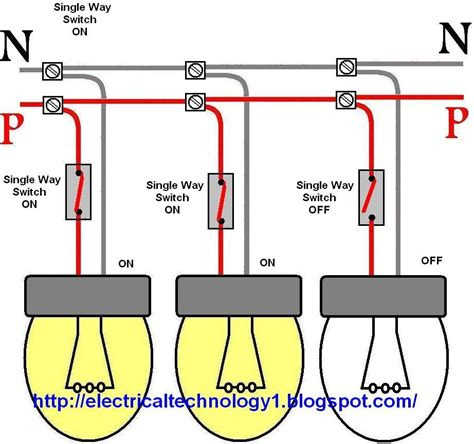 wiring diagram one switch two lights wiring diagram with