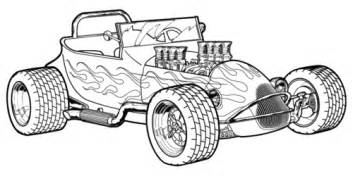 rod coloring pages coloring pages rod cars kids coloring pages