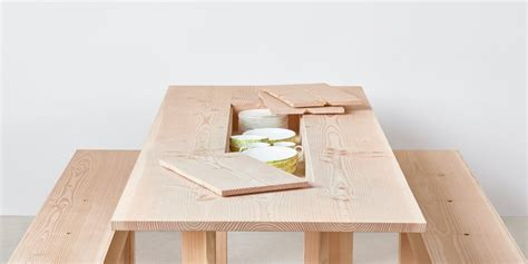 Simple Html Table Simple Wooden Table With Storage In It Planks
