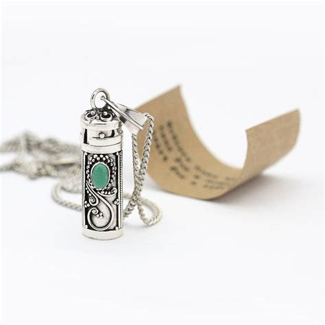message in a bottle necklace by regalrose
