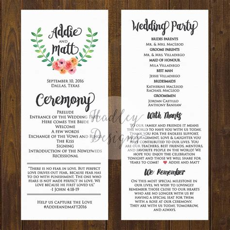 program fans for wedding ceremony simple fan wedding program wording mini bridal