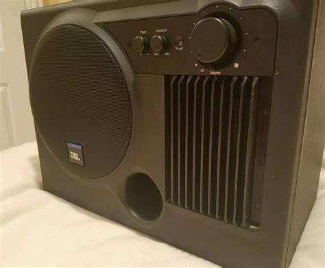 jbl control   active powered subwoofer speaker