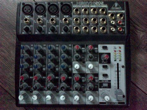 Mixer Audio Behringer 1202 behringer xenyx 1202 image 451683 audiofanzine