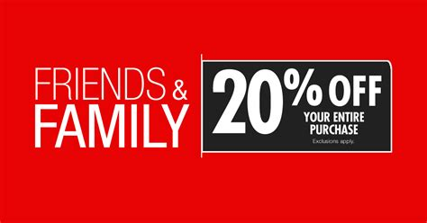 Friends And Family Discount At Prescriptives by Big Lots 20 Entire Store Friends And Family Sale B M