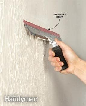 How To Remove Wallpaper From Ceiling by How To Skim Coat Walls The Family Handyman Smooth And