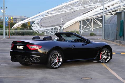 maserati grancabrio maserati grancabrio mc now on sale in australia from