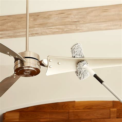 how to clean high ceiling fans ceiling fan duster connect clean microfiber ceiling