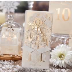 silver pop up 3d invitation card laser cut gold foil wedding invitation card 2016 new