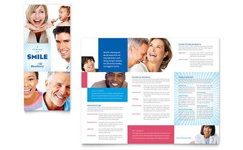 dental brochure templates family dentistry tri fold brochure template word publisher