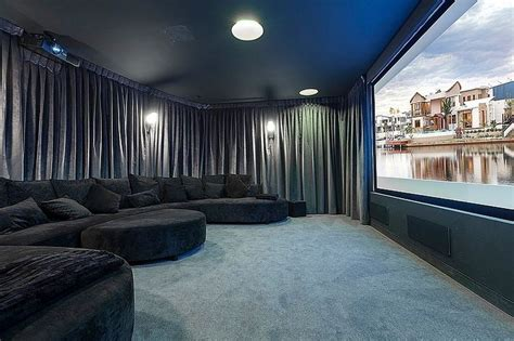 media room curtain ideas 15 11 10 exemples cinema maison construire tendance
