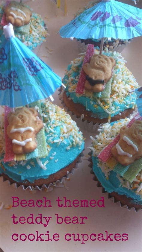17 best ideas about beach themed cupcakes on pinterest